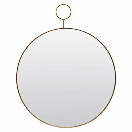 Housedoctor Mirror The Loop glass metal Ø38cm