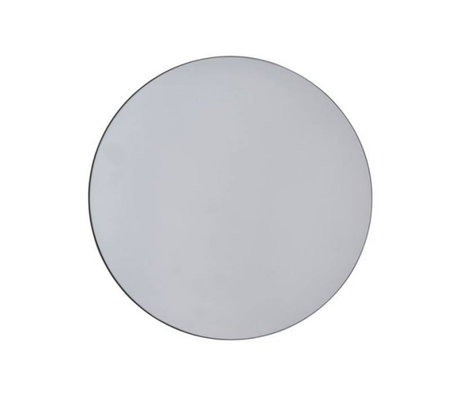 Housedoctor Miroir Murs gris de Ø50cm de verre