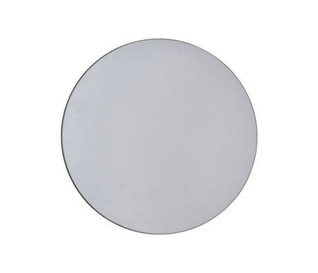 Housedoctor Spiegel Wände grau Glas Ø50cm