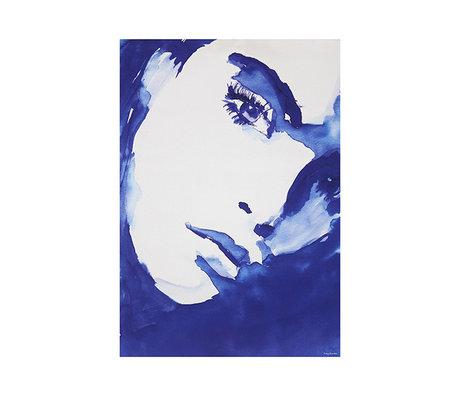 HK-living Print Tiny art frame M canvas: Sophie 42x60,5cm