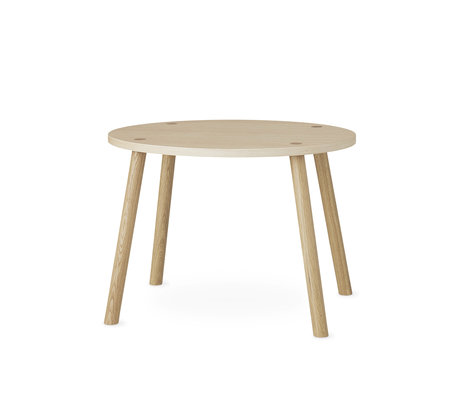 NOFRED toddler table mouse natural brown oak wood 60x46x43.7cm