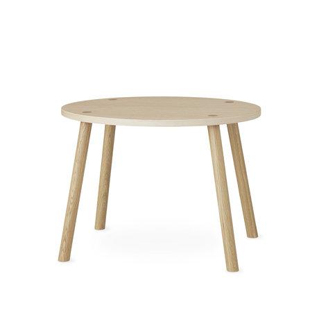 NOFRED souris de table bambin naturel bois de chêne brun 60x46x43.7cm