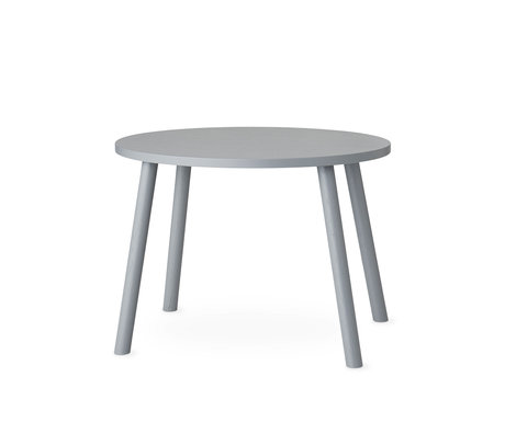 NOFRED toddler table mouse gray wood 60x46x43.7cm