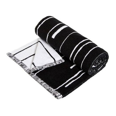 OYOY Towel Puun small black and white cotton 50x100cm