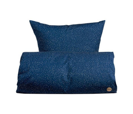 OYOY Duvet junior starry blue and white cotton 100x140cm