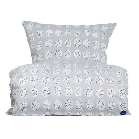 OYOY Duvet Bedding Haya white gray cotton 140x200cm