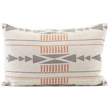 Housedoctor Cushion cover Tribe multicolour cotton 60x40cm