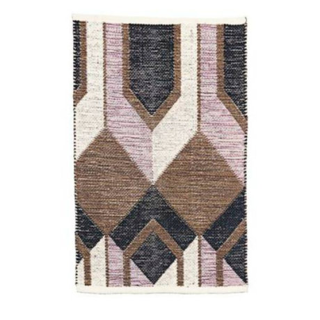 Housedoctor Tapis Art coton multicolore 90x60cm