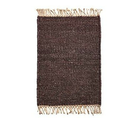 Housedoctor Doormat Rama brown jute 90x60cm