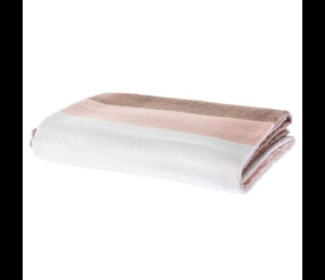 Riverdale Plaid Flow pink textile 130x160cm