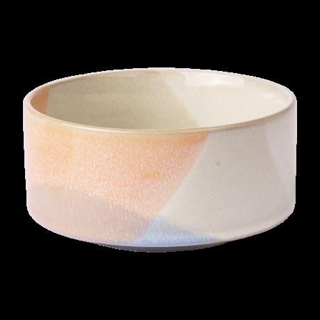 HK-living Bowl Gallery céramique multicolore Ø12x6cm