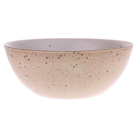 HK-living kom egg shell keramiek bold & basic 16,5x16,5x6,5cm