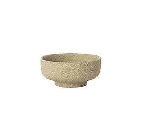 Ferm Living Salt bowl Sekki beige ceramic Ø7.5x3.3cm