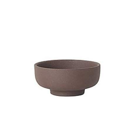 Ferm Living Salzbehälter Sekki rotbraune Keramik Ø7.5x3.3cm