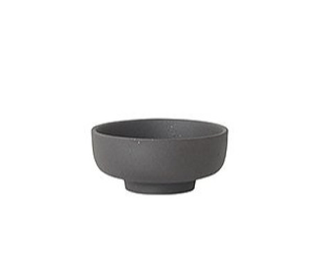 Ferm Living Salt bowl Sekki gray ceramic Ø7.5x3.3cm