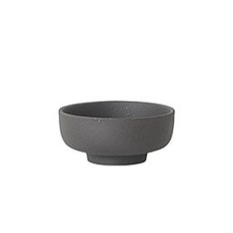 Ferm Living réceptacle sel Sekki céramique gris Ø7.5x3.3cm