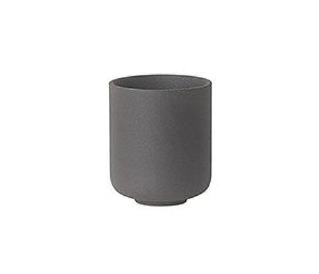 Ferm Living Cup Sekki grau Keramik klein Ø6.5x5.5cm