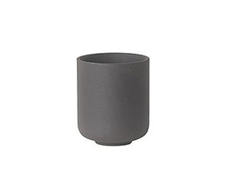 Ferm Living Kopje Sekki grijs keramiek small Ø6.5x5.5cm