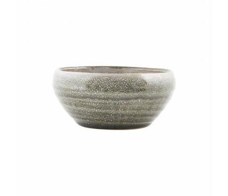 Housedoctor Dish Nord gray earthenware ø14,5x6,5cm