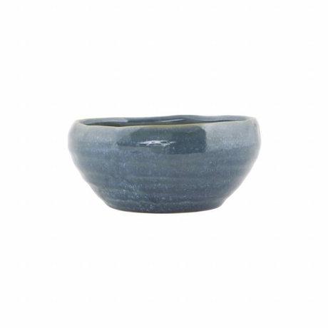 Housedoctor Nord dish blue Keramik ø14,5x6,5cm
