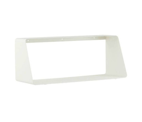 Housedoctor Wall shelf ROOM white metal 55x20 / 12x22cm