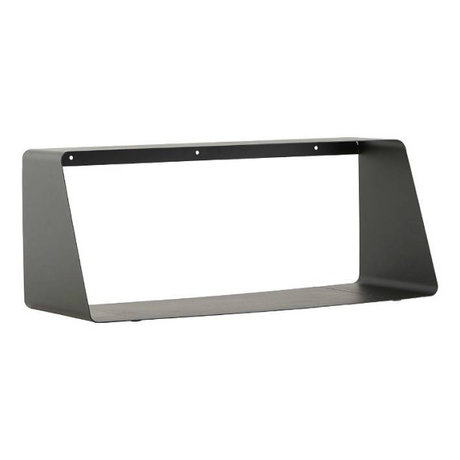 Housedoctor Wall shelf ROOM black metal 55x20 / 12x22cm