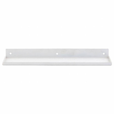Housedoctor Wall shelf ledge, white metal 43x11,5x4cm