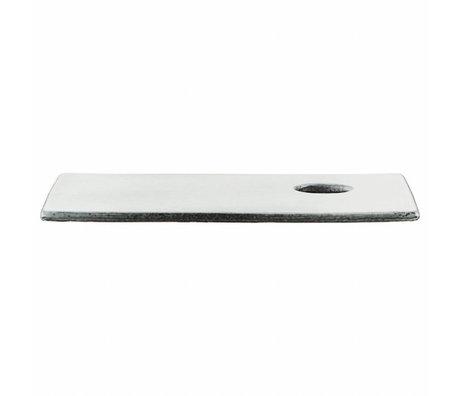 Housedoctor Sushi-Platte Rustic grau blau 17x29cm