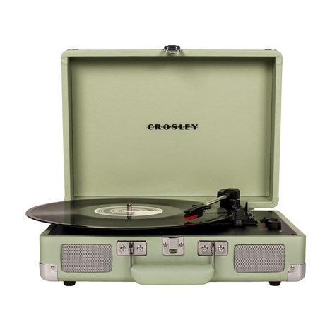 Crosley Radio Cruiser Deluxe - Menthe 35.5x25.5x10cm