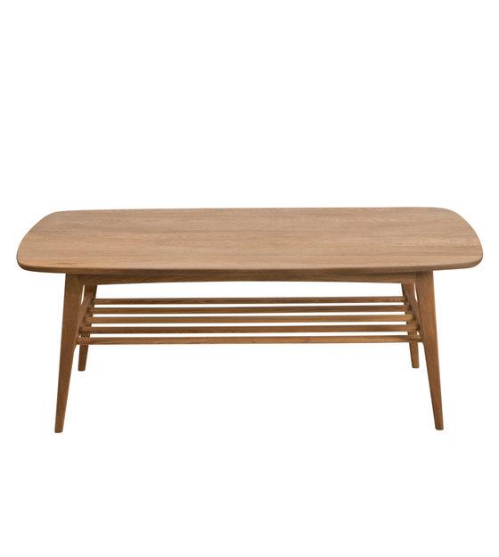 Fabulous Wonenmetlef Coffee Table Jolie Natural Brown Wood 120X60X47Cm Machost Co Dining Chair Design Ideas Machostcouk