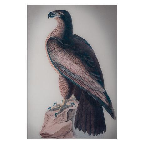 wonenmetlef Gemälde Washington mehrfarbiges Plexiglas 60x90cm