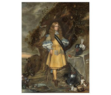 wonenmetlef Gemälde Memorieportos Moses mehrfarbiges Plexiglas 80x120cm