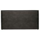 BePureHome Headboard Snooze black eco leather 197x6x100cm