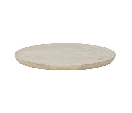 BePureHome Plateau Discus M en bois de chaux 25x25x1.5cm