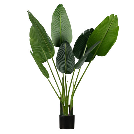 LEF collections Artificial plant Strelitzia green synthetic 61x50x108cm