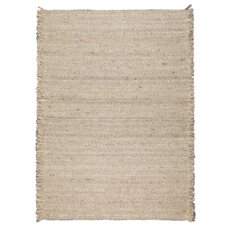 Zuiver Tapis Frills beige laine jaune 170x240cm