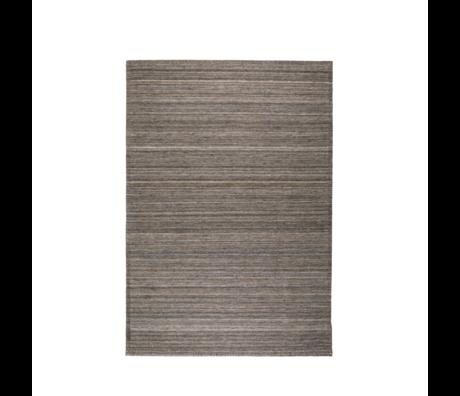 Zuiver Teppich Sanders Kaffee braun Wolle 170x240cm