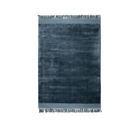 Zuiver Tapis Blink bleu textile 170x240cm