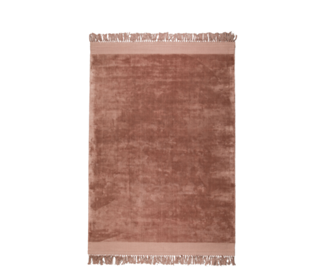 Zuiver Tapis Blink rose textile 200x300cm