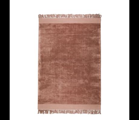 Zuiver Vloerkleed Blink roze textiel 200x300cm