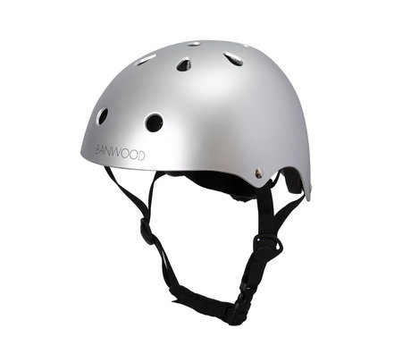 Banwood Bicycle helmet child chrome 24x21x17.5 cm