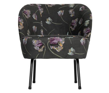 BePureHome Armchair Vogue rococo aloe velvet 57x70x69cm