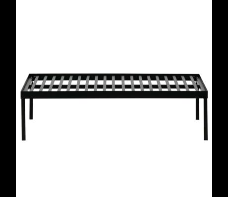 vtwonen Cadre pour coussin de palette Stilt black metal 120x80x32cm
