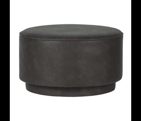 vtwonen Pouf café gris anthracite 60x60x36cm