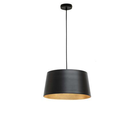 WOOOD Pien hanging lamp black metal 40x40x20cm