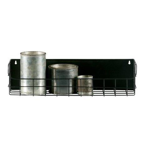 LEF collections Wandrek Lucie 50cm zwart metaal 50x15x12,5cm schade
