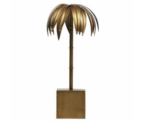BePureHome Palm M laiton antique métal doré 40x19x19cm - Copy