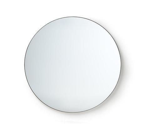 HK-living Spiegel Round spiegelglas metaal L Ø120cm