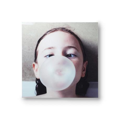 HK-living Peinture Bubble Gum Plexiglass Multicolore 80x80cm