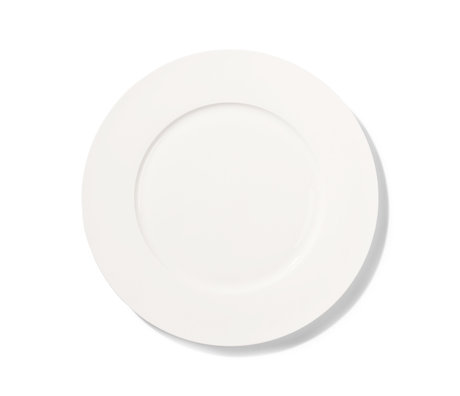 HK-living Essteller Athena aus weißem Porzellan Ø28cm